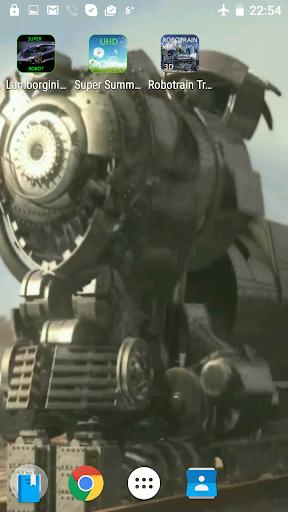 Robotrain Transformer 3D LVW
