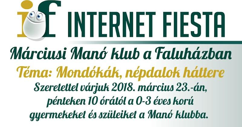 Márciusi Manó klub a Faluházban 2018.03.23