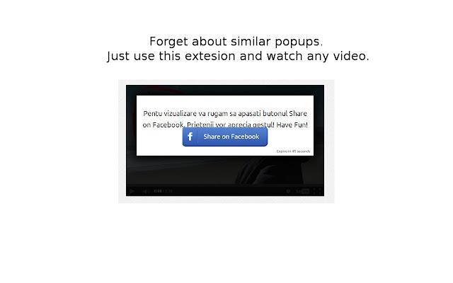 Video unlocking