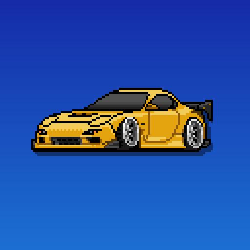 Pixel Car Racer 賽車遊戲 App LOGO-APP開箱王