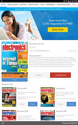 Electronics For You - screenshot