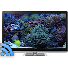 Aquariums on TV via Chromecast icon
