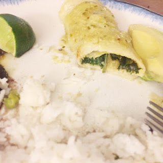 Clean and Green Enchiladas