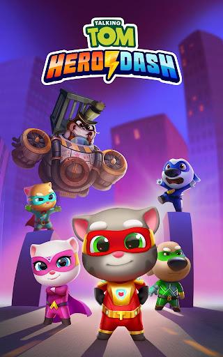 Talking Tom Hero Dash - Run Game screenshot 21