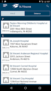 "St.Vincent Health ""Caring""- screenshot thumbnail"
