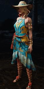 叙情的な女神