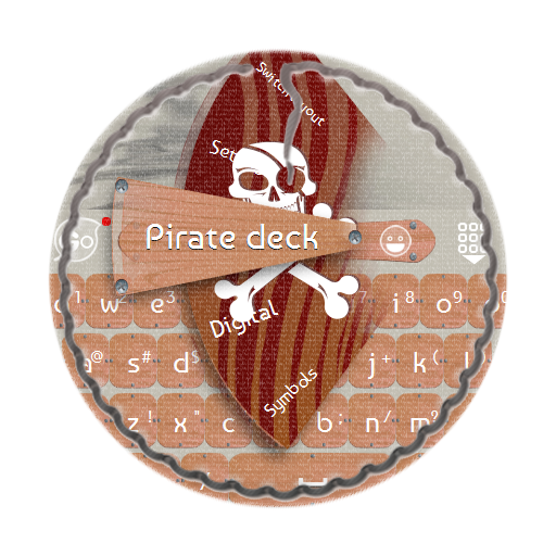 甲板上的海盜 GO Keyboard LOGO-APP點子