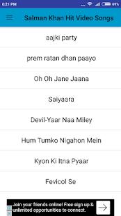 Salman Khan Hit Video Songs - náhled