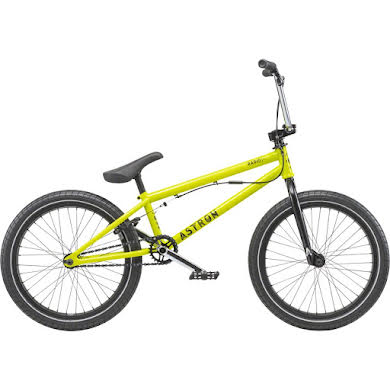 "Radio 2019 Astron 20"" FS Complete BMX Bike 20.6"" TT Metallic Yellow"
