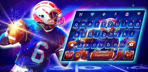 Football Keyboard Theme for NFL for PC