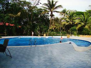 Photo: #008-La piscine du Pachira Lodge à Tortuguero
