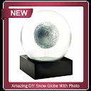Amazing DIY Snow Globe With Photo APK