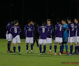 Anderlecht-beloften blijven aan de leiding na late winst tegen Racing Genk