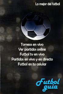 TvFutbol - Ver fútbol online guía deportes online for PC-Windows 7,8,10 and Mac apk screenshot 3
