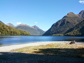 Photo: This was the view from one of our campsites.  Most of the DOC sites we stayed at in the South Island were equally amazing.