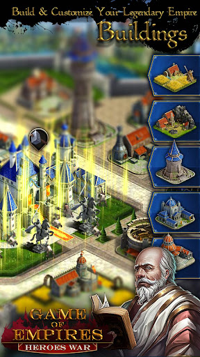 Game Of Empires : Heroesu2018 War  captures d'u00e9cran 1