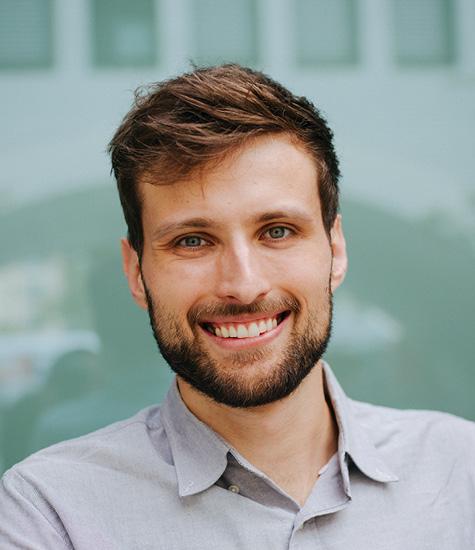 Softwareentwickler Dennis Kraft arbeitet in Googles Anonymization Team.