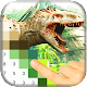 Color Pixel by Number: Jurassic Dinosaur Pixel Art (game)