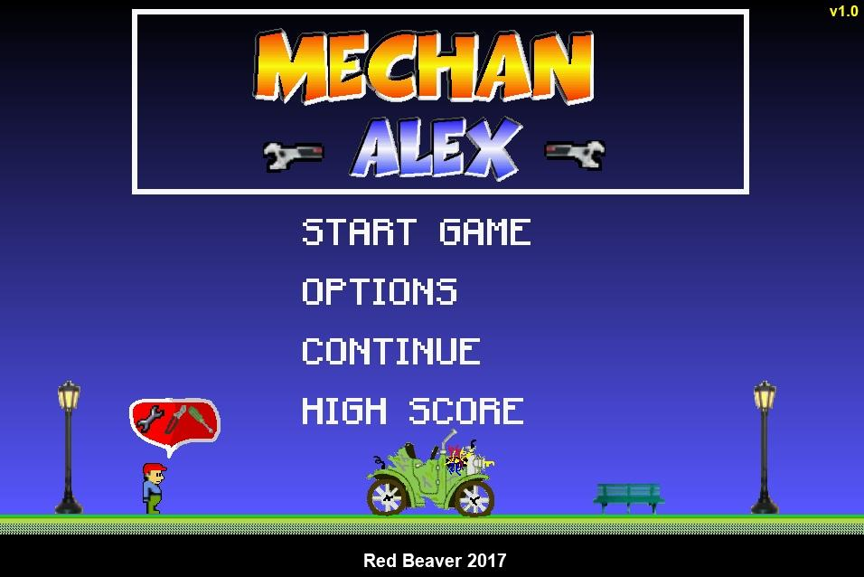Mechan Alex- screenshot