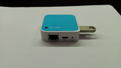 Photo: TP-Link TL-WR703N: OpenWrt