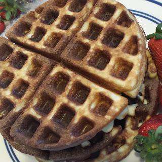 Almond Flour Waffles.