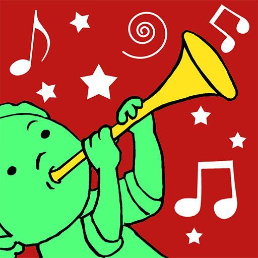 儿童音乐旋律, 乐器声音和童谣 教育 App LOGO-硬是要APP