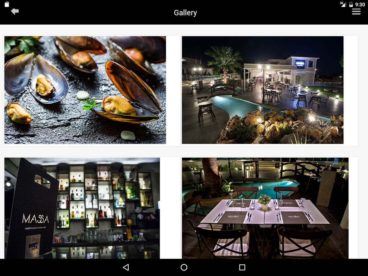 MASSA cuisine+bar- screenshot