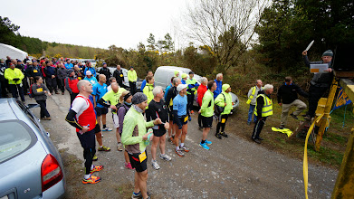 Photo: Start of the Slievenamuck Marathon, April 13th, 2014. Photo by Sean Fitzpatrick.  1 of 5