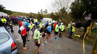 Photo: Start of the Slievenamuck Marathon, April 13th, 2014. Photo by Sean Fitzpatrick.  1 of 5