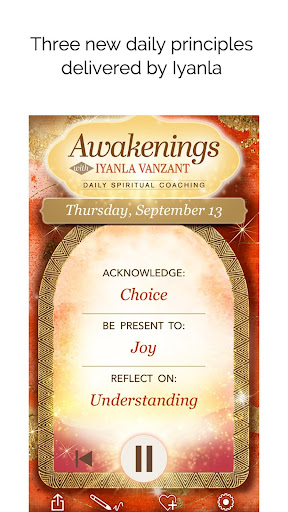 Awakenings with Iyanla Vanzant - Daily Coaching screenshots 3