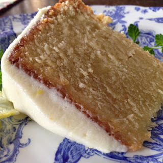 Key Lime Poundcake with Key Lime Cream Cheese Icing