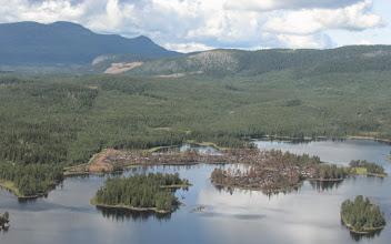 Photo: Gräsvattnet (efter miljöbränning på näset)