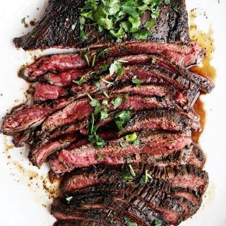 Asian Flank Steak.
