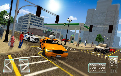 City Taxi Driver sim 2016: Cab simulator Game-s 1.9 screenshots 8