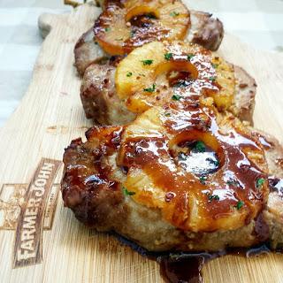 FARMER JOHN® Baked Pineapple Teriyaki Pork Chops Recipe