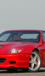 Themes Ferrari 575 screenshot 2