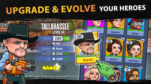 Zombieland: Double Tapper apkpoly screenshots 2