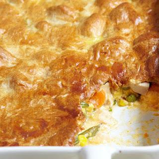 Cheesy Chicken Pot Pie.
