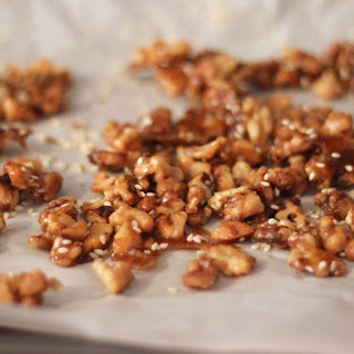 Candied Sesame Walnuts.
