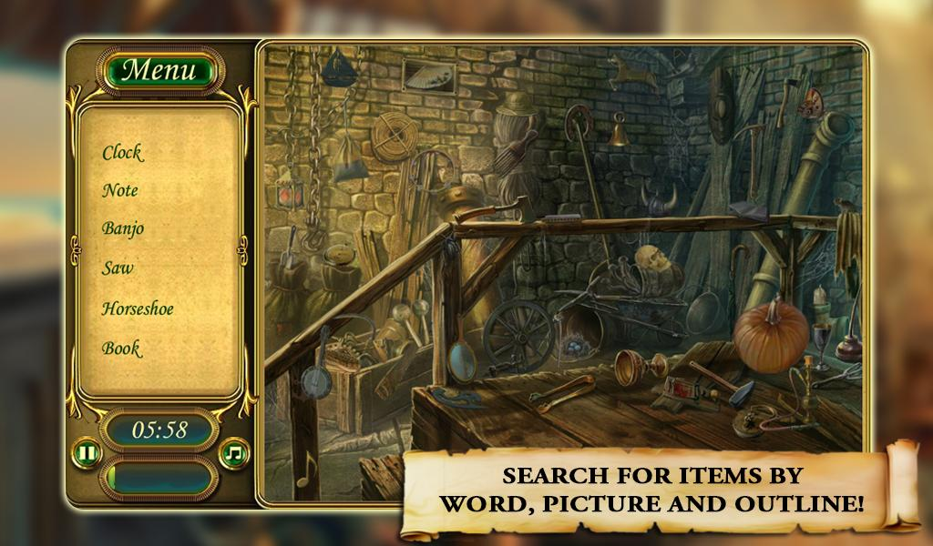 Hidden Object: Strange Mystery- screenshot