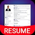 Resume Builder App Free CV maker CV templates 2020 icon
