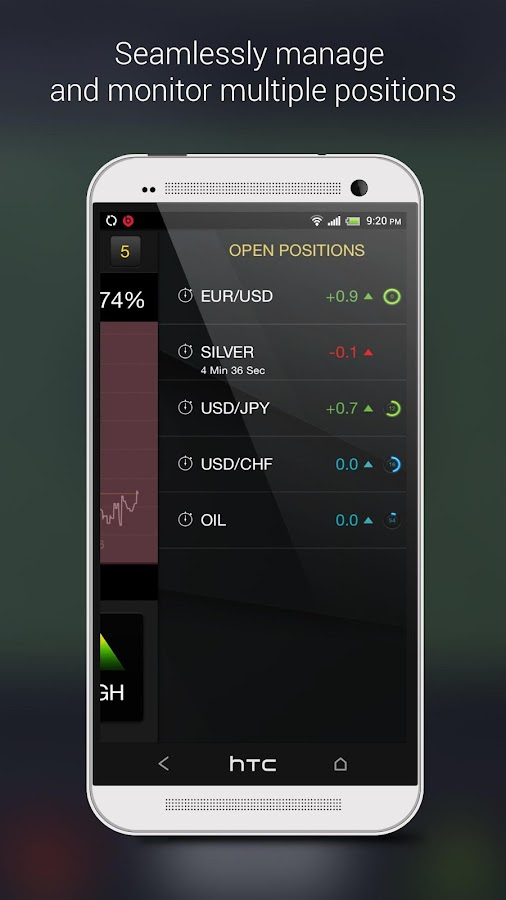 Options trading game app