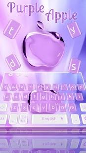Purple Phone Apple Keyboard - náhled