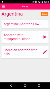 Safe abortion with pills- screenshot thumbnail