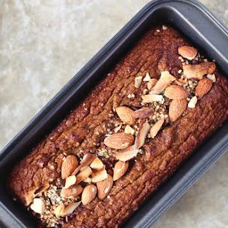 5-Ingredient Pumpkin Pie Loaf // Grain & Dairy Free