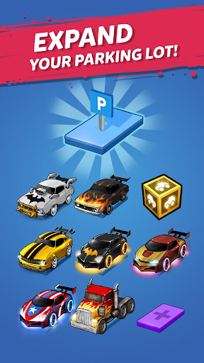 Merge Battle Car: Best Idle Clicker Tycoon game 2.0.0 screenshots 2