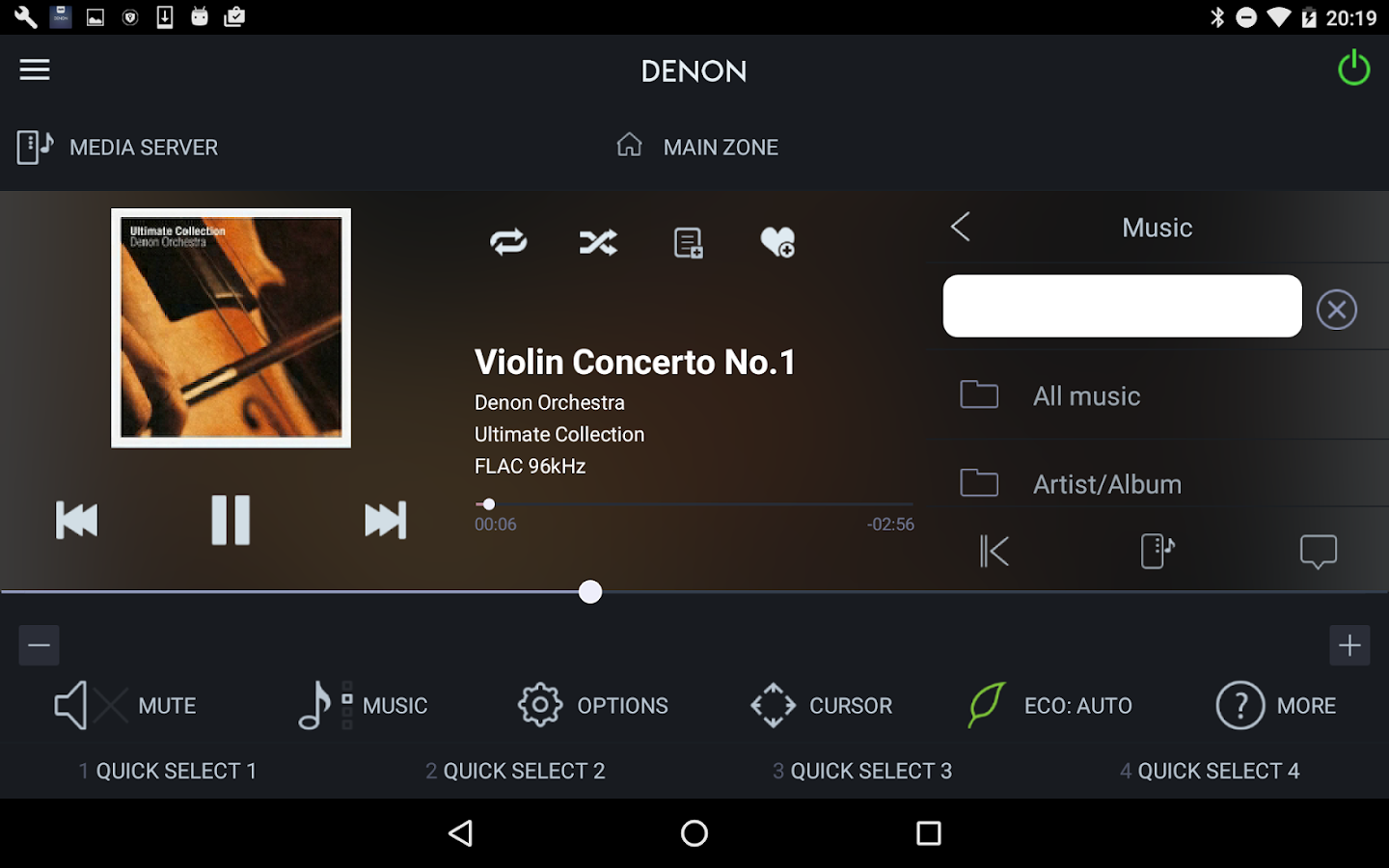 Denon 2016 AVR Remote- screenshot