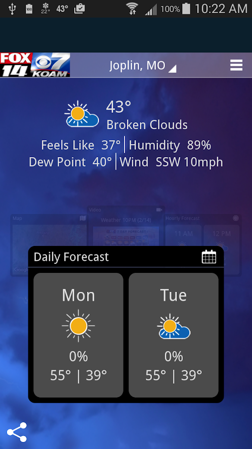 KOAM Wx- screenshot