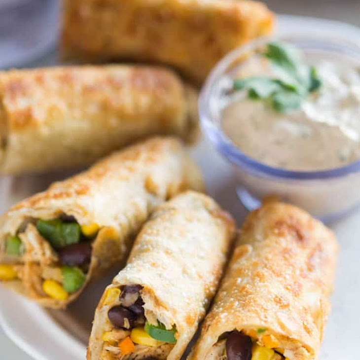 Southwest Egg Rolls Recipe