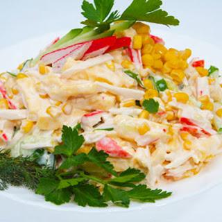 Crabmeat Sticks Salad.